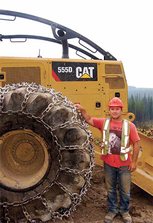Logging & Sawmilling Journal October 2014 -A Cat tradition