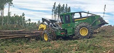 Logging & Sawmilling Journal December/January -Deere