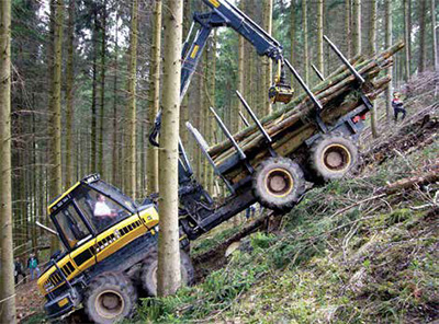 Logging Amp Sawmilling Journal July August 2016 Steep