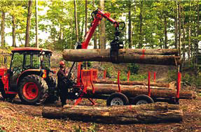 Mechanical logging options for woodlot owners
