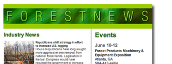 Forestnet e-news
